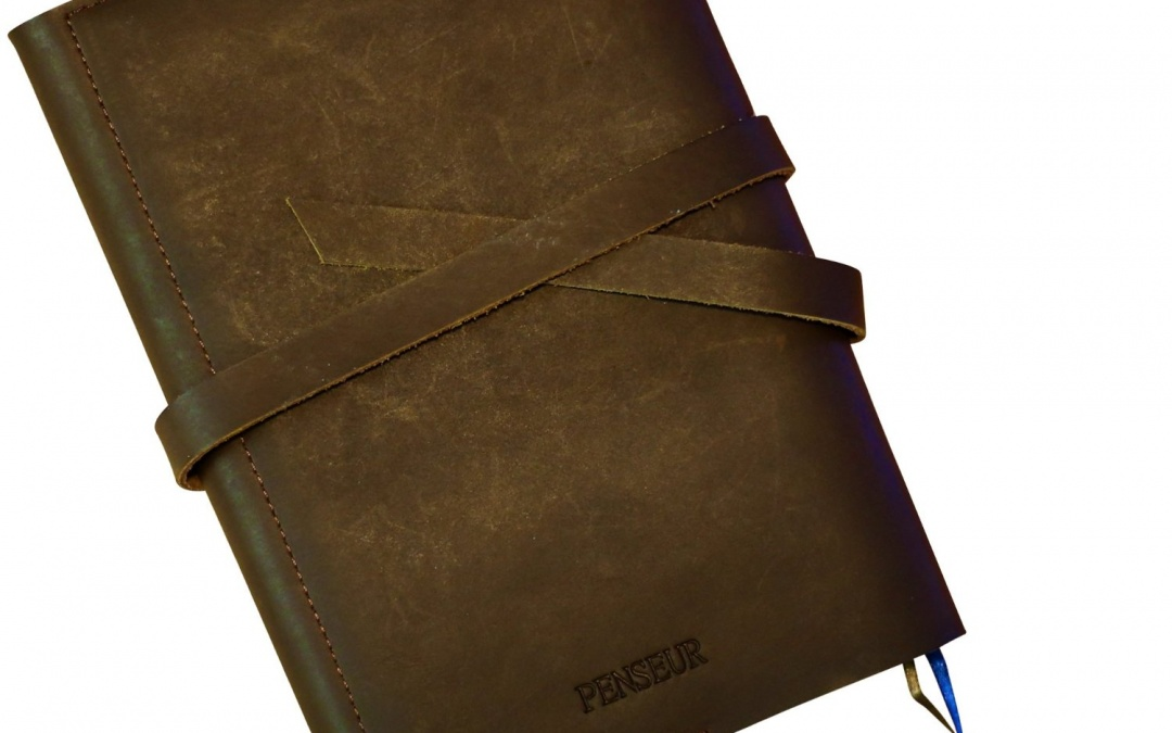 Handmade Genuine Leather Refillable Journal