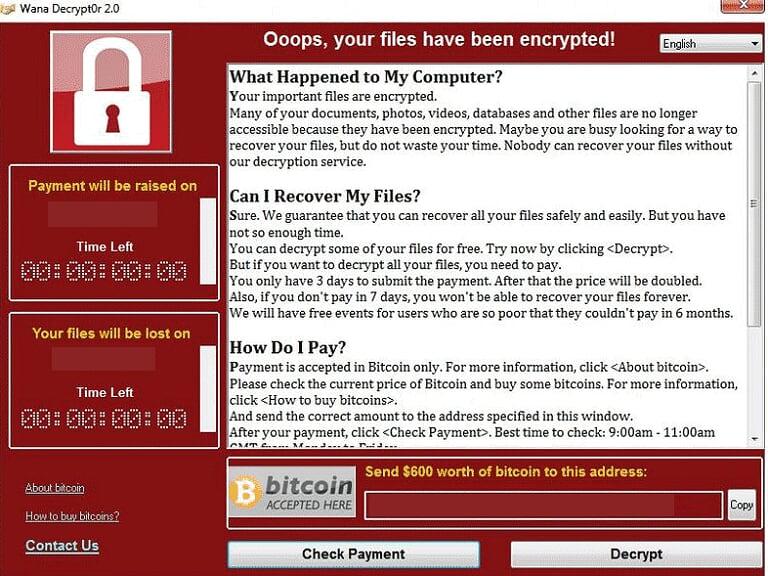 WARNING: Global Ransomware Attack