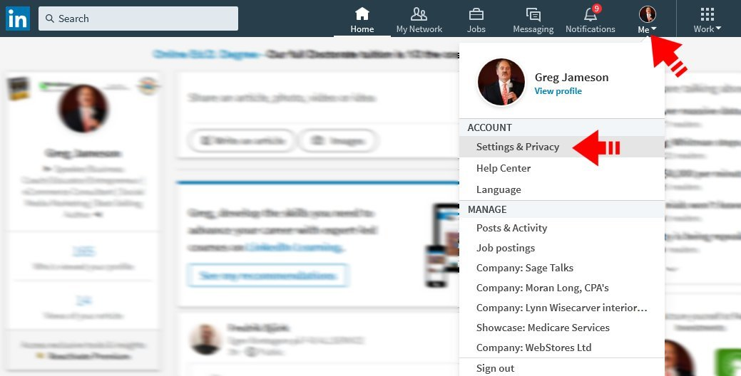 Using Facebook to Reach LinkedIn Contacts