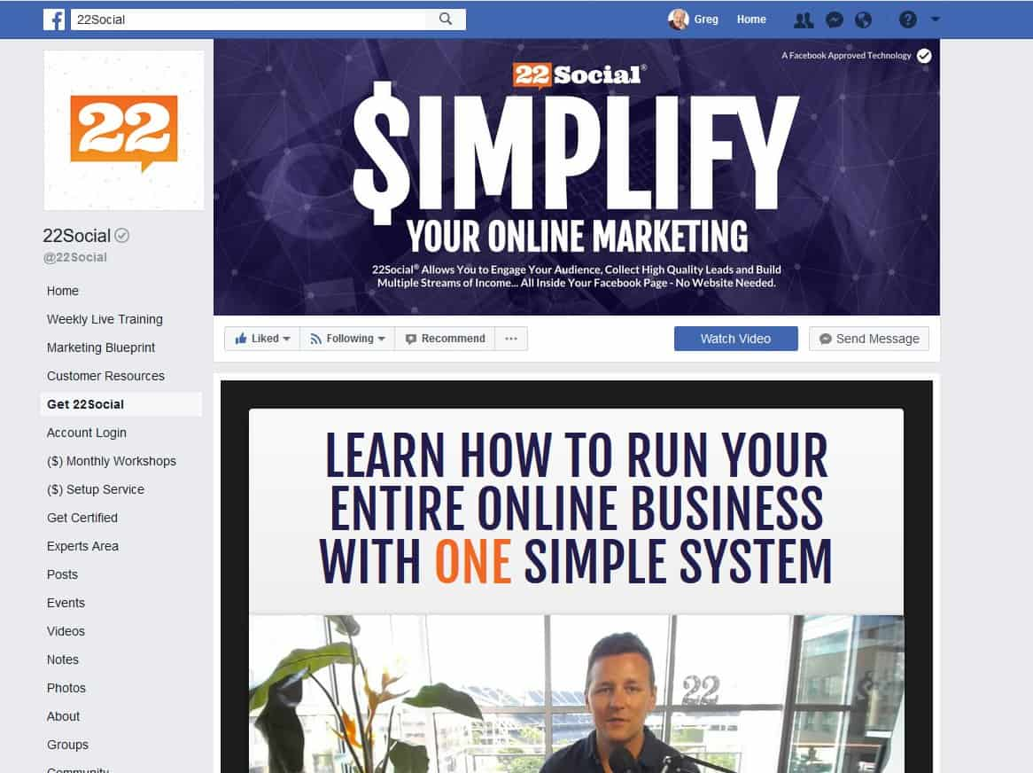 Turn Your Facebook Page Into a Website!