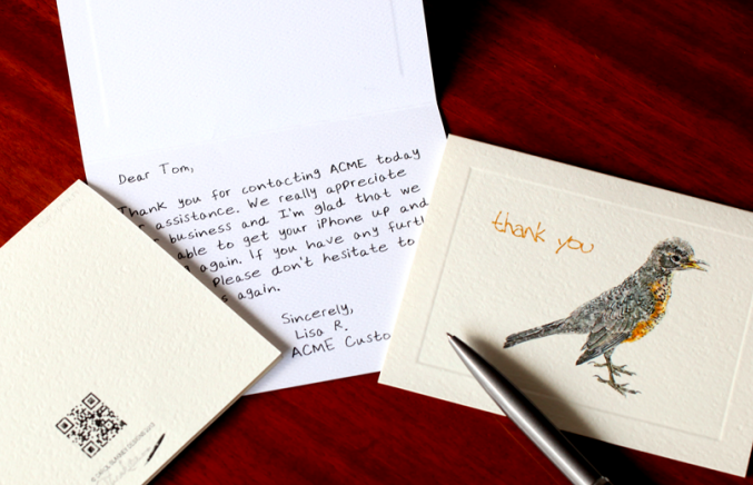 Handwritten Thank You Notes