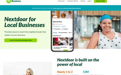 Nextdoor for Business