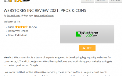 Webstores Review 2021: Fix the Photo